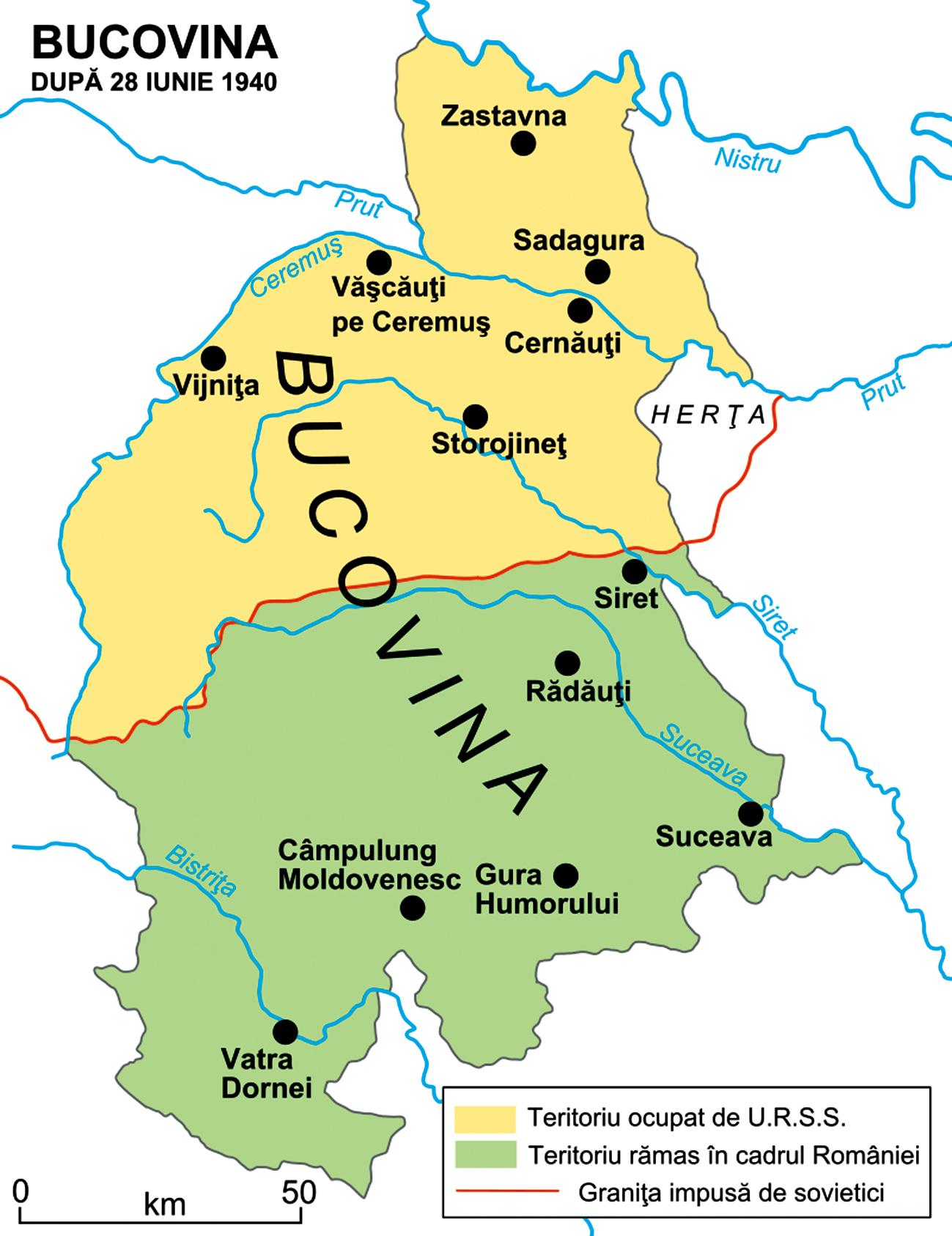teritorii bucovina de nord
